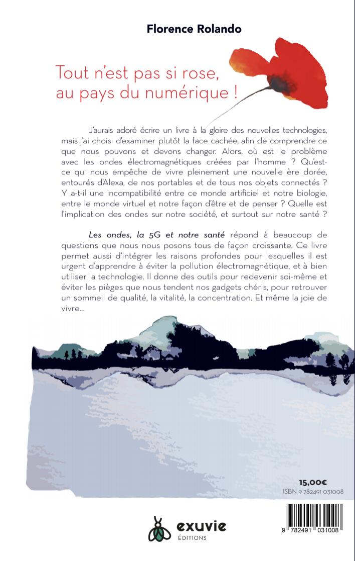 Arrière du livre : Les ondes, la 5G et notre santé