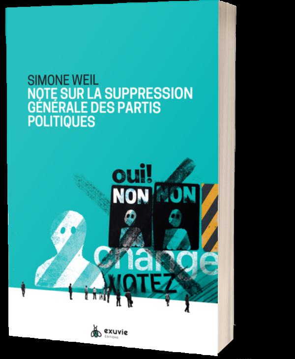 Simone Weil Note Sur La Suppression Des Partis Politiques